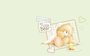 Picture art, bear, children's, Forever Friends Deckchair bear