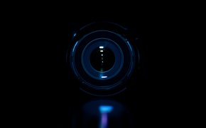 Picture macro, darkness, photo, the camera, lens, macro
