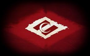 Wallpaper Spartacus, retro, Spartak, Spartakmoskva, Moscow, red-white, strip, Moscow, logo