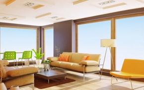 Picture design, sofa, furniture, interior, apartment, table, Interior design