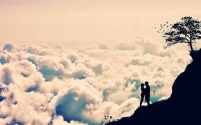 Picture the sky, romance, vanilla