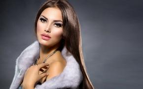 Picture look, girl, makeup, decoration, Anna Subbotina
