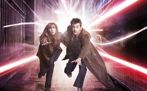 Picture sneakers, running, the series, coat, Doctor Who, Doctor Who, David Tennant, David Tennant, Tenth Doctor, …