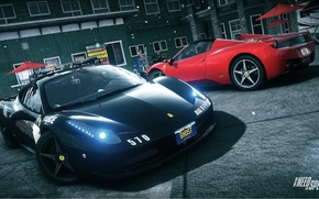 Picture spider, Ferrari, Need for Speed, nfs, police, 2013, pursuit, 458 Italia, Rivals, NFSR, NSF
