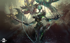 Picture Guild Wars 2, MMO, GW2, Event boss, Twisted Marionette
