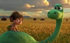 Picture cartoon, animated film, The good dinosaur, The Good Dinosaur