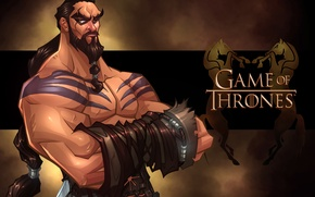 Picture the series, Game of Thrones, Khal Drogo, Jason Momoa