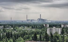 Wallpaper the city, home, Pripyat