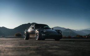 Picture Porsche, Classic, with, 964, Turbo, HRE, 303 in Brushed Clear