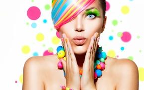 Picture colors, makeup, surprise