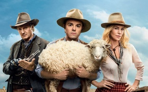 Picture Charlize Theron, Liam Neeson, Seth MacFarlane, A Million Ways to Die in the West, A …