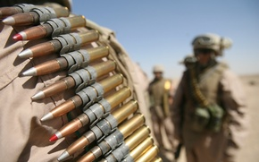 Picture macro, soldiers, cartridges