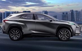 Picture Lexus, concept, turbo