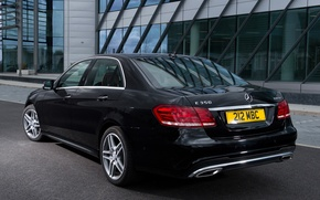 Picture machine, Mercedes-Benz, rear view, Mercedes, AMG, Sports Package, BlueTec, E 350