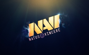 Wallpaper game, minimalism, Logo, team, Na`Vi, cs:go