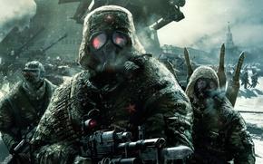 Picture weapons, soldiers, The Kremlin, Tom Clancy, EndWar, Tom Clancy's, Winter