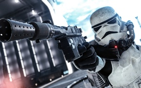 Picture weapons, Star Wars, equipment, Battlefront, Stormtrooper
