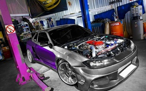 Wallpaper garage, S15, Silvia, Nissan, MEGA EXPANSION