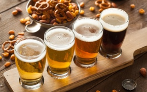 Picture Alcohol, beer, barley, foam, different types of beer