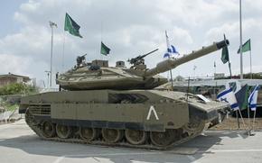Picture tank, Israeli, Merkava-4