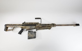 Picture weapons, weapon, sniper rifle, Barret, sniper rifle, without optics, m107, m82