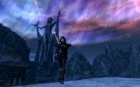 Picture girl, The elder scrolls v Skyrim, island of the Dwemer