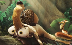 Picture ice age, Scratch, dawn of the dinosaurs
