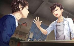 Picture anime, art, guys, Boku no Hitori Zero
