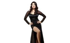 Picture girl, sexy, Sunny Leone, legs, eyes, smile, beautiful, figure, model, pretty, beauty, lips, hair, brunette, …