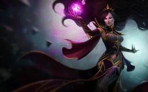 Picture girl, magic, hair, art, Diablo III, Reaper of Souls, Arcana Unleashed