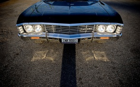 Picture Chevrolet, Supernatural, Supernatural, Chevy, Sam, Dean, Impala, Impala, Chevrolet, Chevy, Impala 1967