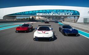 Picture speed, three, Aston, Martin, track, Vulcan