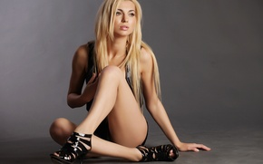 Picture sexy, legs, blonde, pose