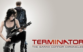 Picture The series, Terminator, The Sarah Connor Chronicles ... , Sarah and John