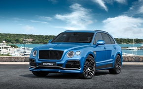 Wallpaper Bentley, Bentley, crossover, Bentayga, bentayga