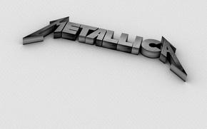 Wallpaper logo, metallica