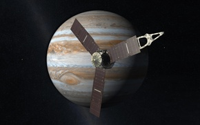 Picture Jupiter, Juno, probe