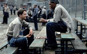 Picture Morgan Freeman, Morgan Freeman, Ellis Boyd 'Red' Redding, The Shawshank redemption, The Shawshank Redemption, Andy …