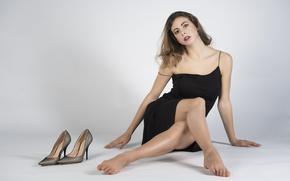 Picture look, model, dress, legs, Giulia