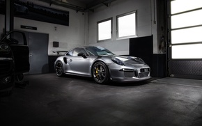 Picture coupe, 911, Porsche, black, Porsche, Black, GT3, TechArt