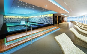 Picture design, style, interior, pool, the room, Spa, Suite, Thermal