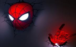 Picture blue, red, web, hero, superhero, spider, spider-man, spider man, spider, quick, Tobey Maguire, Tobey Maguire, …