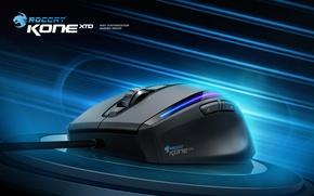 Picture gaming, mouse, roccat, xtd, kone, kone xtd