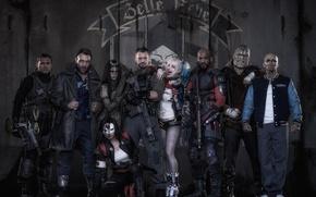 Wallpaper Harley, Bad, Men, Girls, Wallpaper, Guns, Will Smith, Women, Team, Year, Weapons, DC Comics, Movie, ...