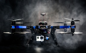Picture hi-tech, drone, quadcopter, X8 First