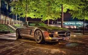 Picture auto, SLS, car, machine, Mercedes-Benz