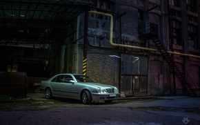 Picture mercedes, Mercedes, factory, factory, w210
