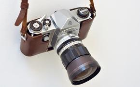 Picture camera, lens, Pentax