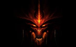 Wallpaper Diablo 3, mug, the game, monster, darkness