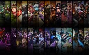 Picture janna, champions, poppy, master yi, sivir, taric, annie, shen, evelynn, Udyr, zilean, akali, corki, pantheon, …